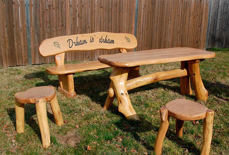 Holz-Hand-Werk Zwickau fertigt Ihre individuelle Gartenmöbel-Holz ...